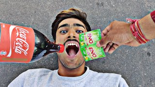Coca Cola and ENO vs Mouth Experiment || What happened Next || Experiment king
