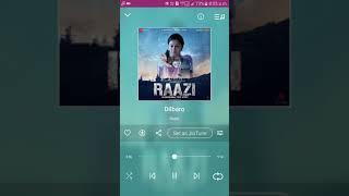 Dilbaro full mp3 song audio.🎧