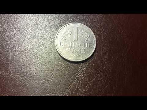 1 марка 1990 года. Германия.
