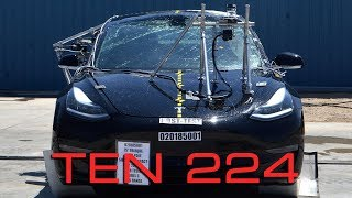 Audi e-tron launches, Model 3 Crash Test, iPace Drives Through Chunnel TEN Episode 224