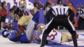 Eli Manning finds Larry Donnell with 21 seconds left as Giants escape 49ers