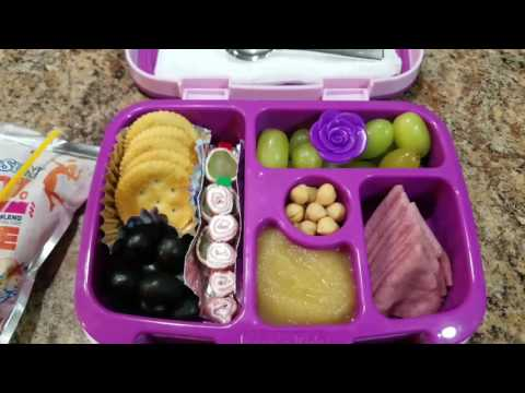 Week 2 school lunch bento box style