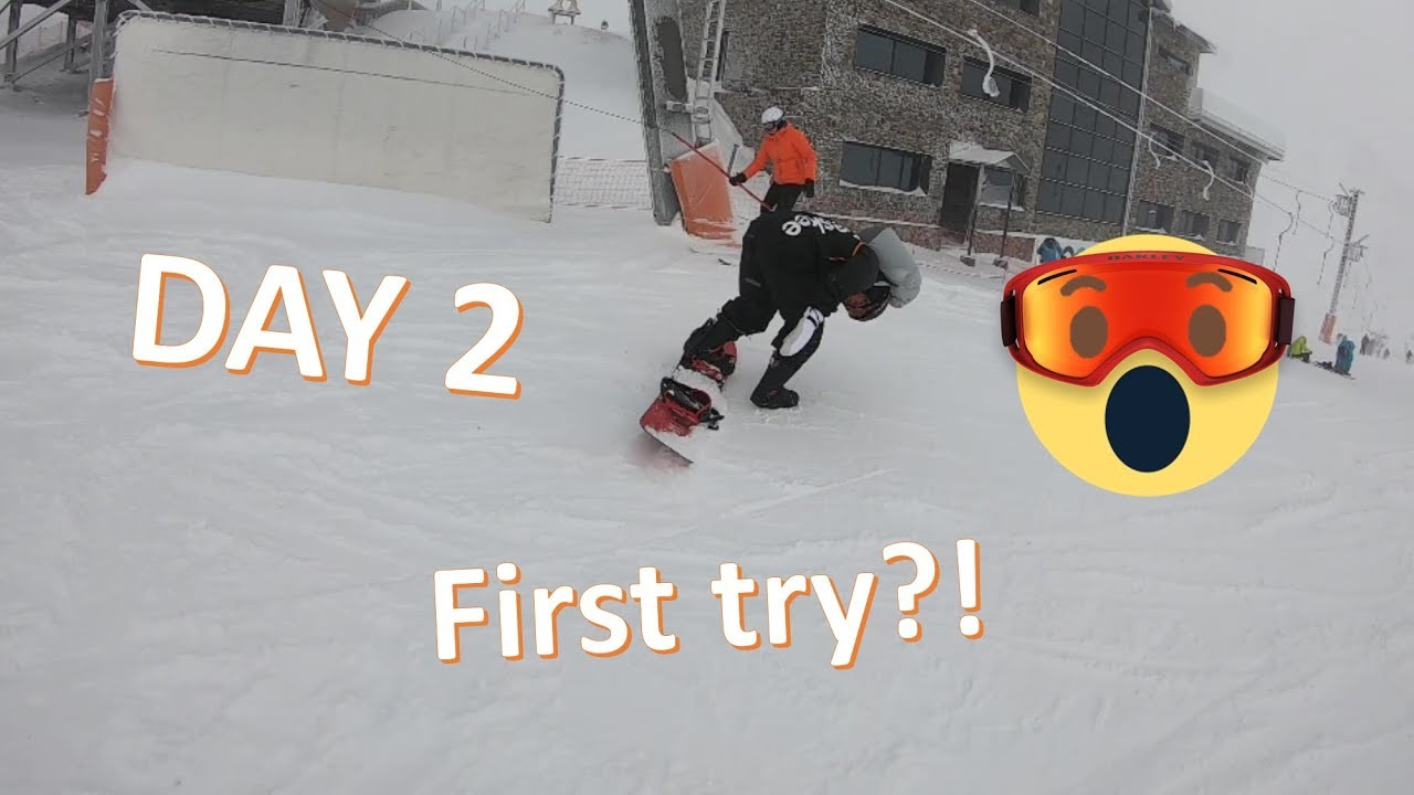 Can Can 20.2: Learning to SNOWBOARD in a WEEKEND - PART 1