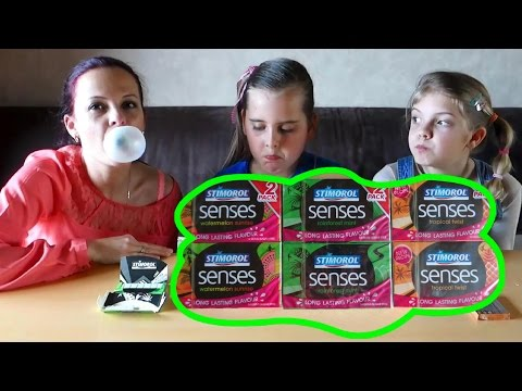БАБЛ ГАМ ЧЕЛЛЕНДЖ! Вызов принят: дети надувают огромный пузырь из жвачки. BUBBLE GUM CHALLENGE
