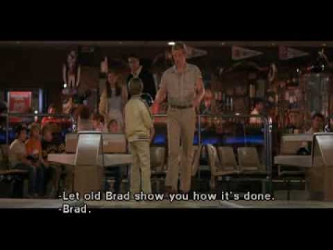 Superman III - Clark help boy in bowling...