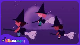 Three Little Witches | Halloween Songs for Children |  Halloween for Kids | The Kiboomers