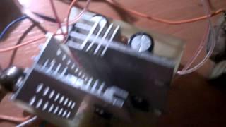 Лампово транзисторный усилитель на 6Ж1П, tip32c