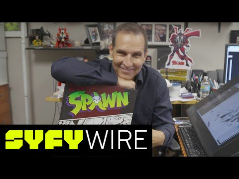 Todd McFarlane Shares Original Spawn Artwork | SYFY WIRE