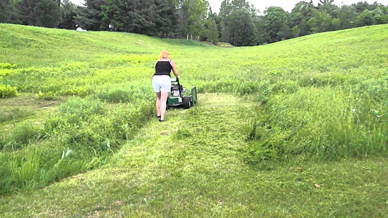 New Billy Goat 3400 Walkbehind Homepro Lawn Mower Youtube