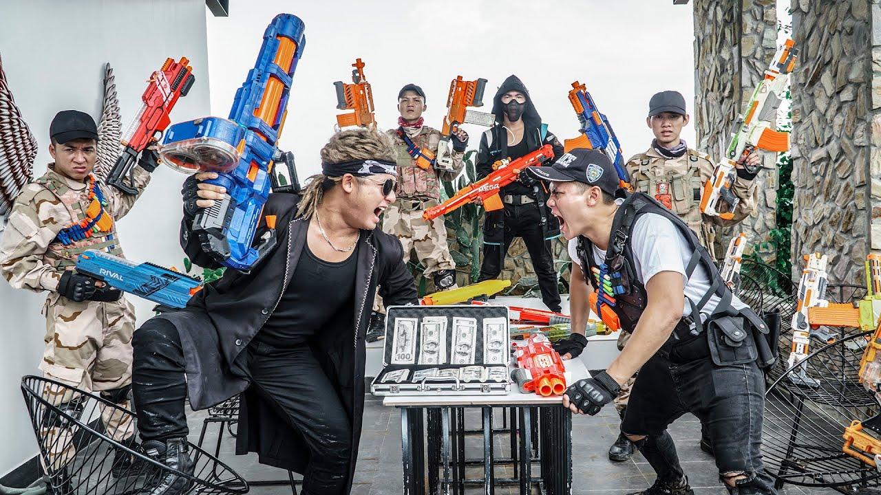 LTT Game Nerf War : Captain Warriors SEAL X Nerf Guns Fight Criminal Mr Zero Crazy Alliance Justice