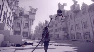 Nier Automata A2 Infinite Berserk Fun. Copied City leveling
