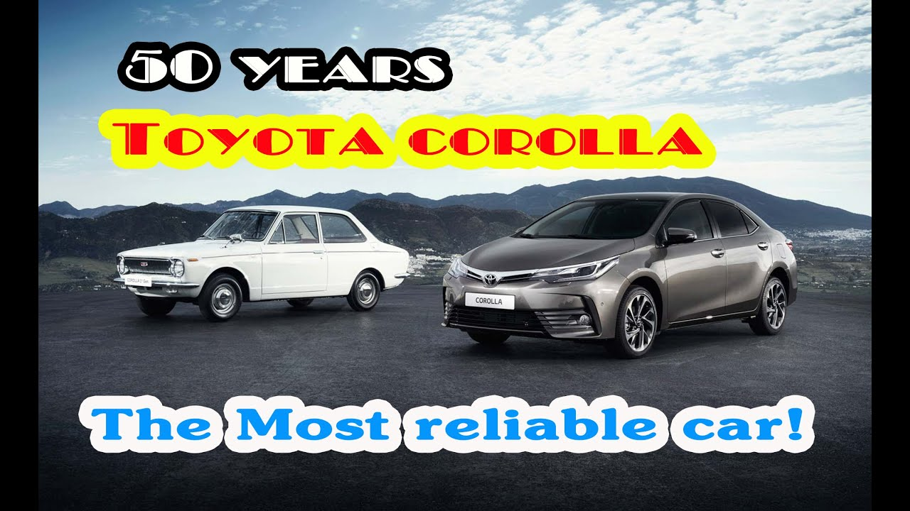 50 years toyota corolla the most reliable car youtube. Black Bedroom Furniture Sets. Home Design Ideas