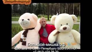 Большие плюшевые медведи недорого Санкт Петербурге(, 2015-08-14T15:37:10.000Z)