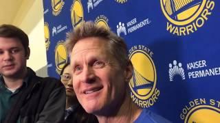 """Steve Kerr on Gregg Popovich: """"I"""