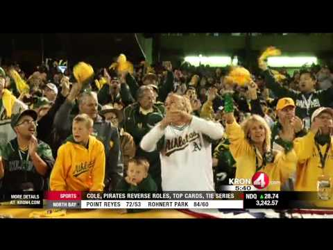 A's Players Ready to Go for ALDS Game One