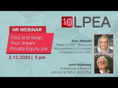 HR Webinar with John Holloway and Ann Hansen from EIF