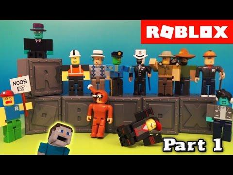 Roblox Series 1 Blind Box Action Figures Case Unboxing PART 1 Deluxe Jazwares
