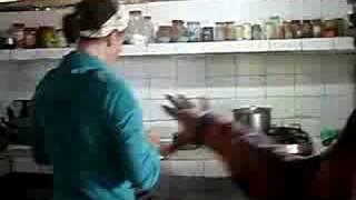 Making Biscuits In Bhagsu Camp Valley