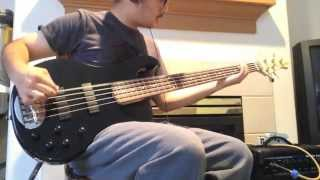 super low drop f bass tuning on lakland 5 string bass