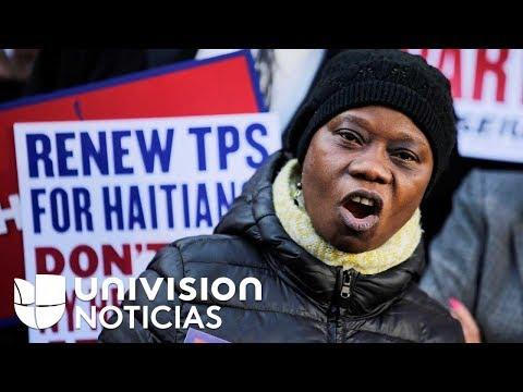 Aumenta la angustia entre inmigrantes con TPS tras eliminación de esta protección para los haitianos