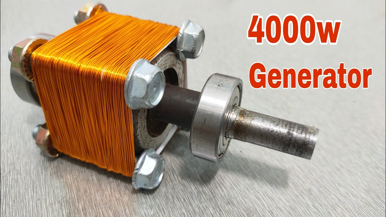 Download How to make 220v generator using new method...