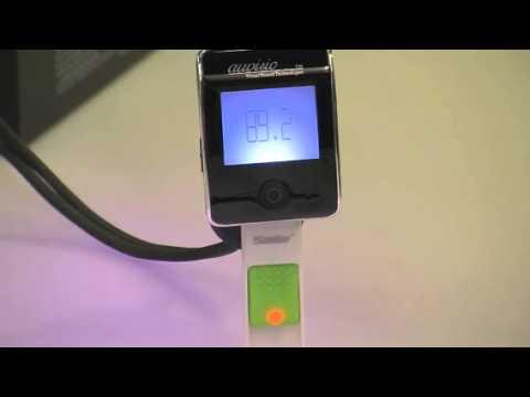 Bluetooth-Freisprecher mit FM-Transmitter FMX-550.BT von auvisio (PX-8220-821)