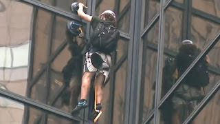Growing concerns over Trump Tower climber