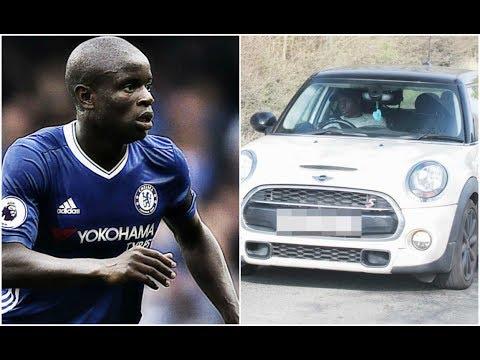 NGolo Kanté préfère sa Mini aux voitures de Sport !