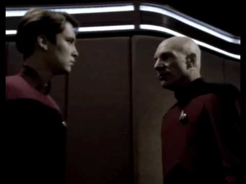 Wesley Crusher Gets Smackdown by Picard