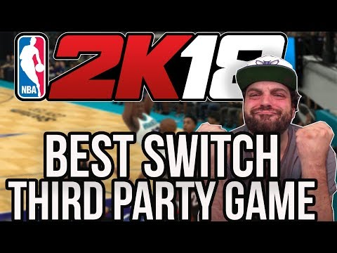 NBA 2K18 Review For Nintendo Switch - Best 3rd Party Game Yet? | RGT 85