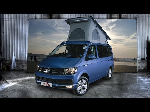 The New VW T6 high top campervan by Hillside leisure