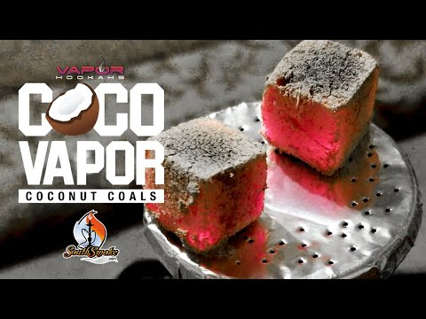 Coco Vapor Charcoal 🔥 – Hookah Charcoal Review 💨 New From Vapor Hookahs