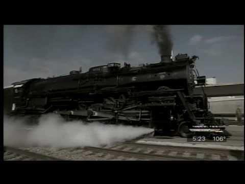 Santa Fe Steam Locomotive 3751-EDWARD R. MURROW AWARD-News Story