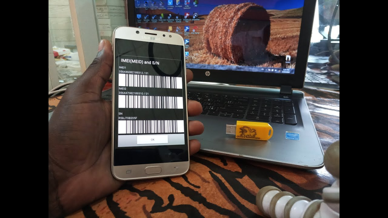 How to Safe change imei for SAMSUNG J730G With CHIMERA TOOL by Juba Tech