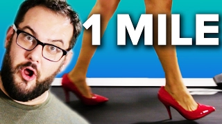 Guys Walk A Mile In High Heels