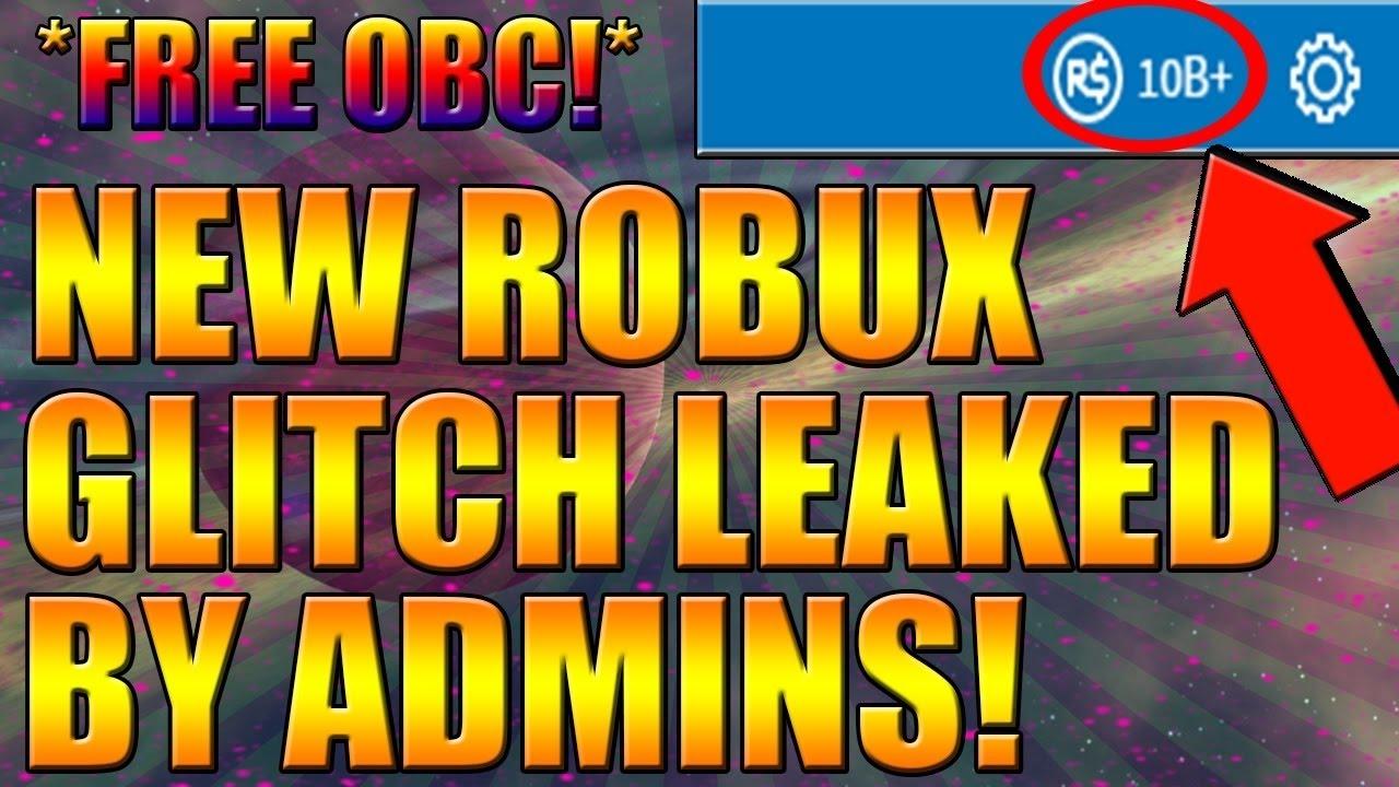 Roblox Free Robux New Glitch Promo Code Free Obc Bc Tbc