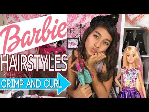 DIY Cute Hairstyles - Fun Hair Game - How To Review : Mercedes World GEM Sisters - 동영상