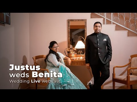 Justus weds Benita   Wedding Live webcast