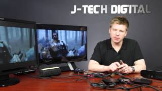 J-Tech Digital Premium Quality Most Advanced HDMI 4x2 Matrix