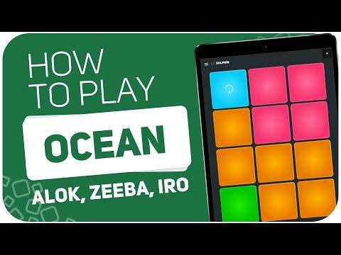 Alok Zeeba IRO - Ocean   SUPER PADS KIT DOLPHIN