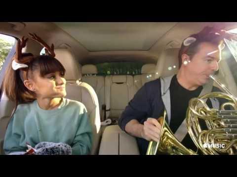 Apple Music's Carpool Karaoke Featuring Ariana