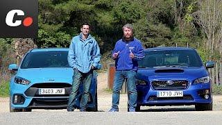 Ford Focus RS 2018 vs Subaru WRX STI (Impreza) | Comparativa | Prueba / Test / Review | Coches.net
