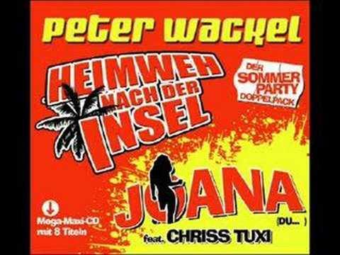 Peter Wackel feat Chriss Tuxi  Joana du geile sau
