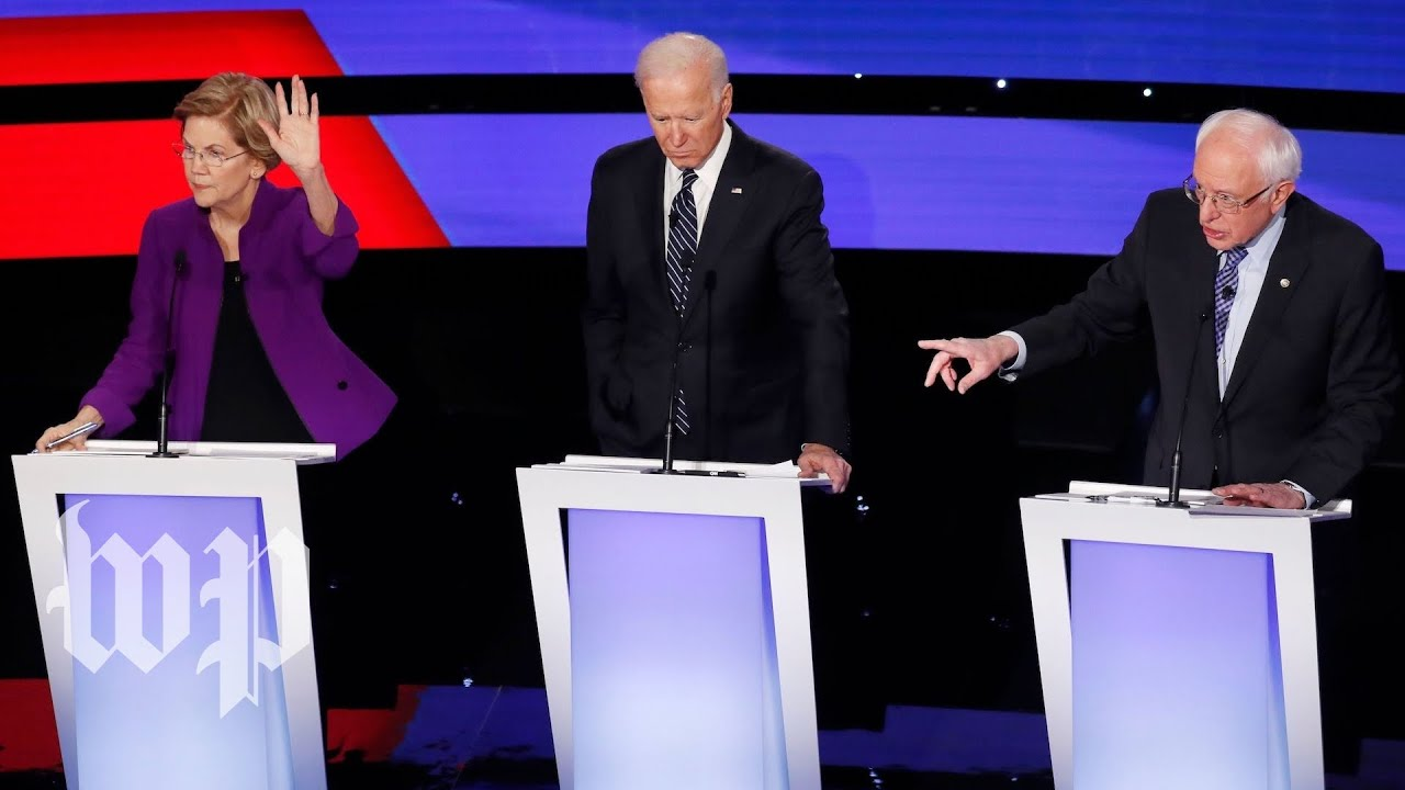 Candidates take on foreign policy, trade, electability at seventh Democratic debate