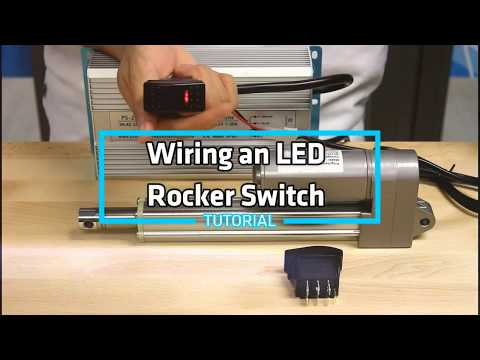 How-To Wire an LED Rocker Switch - YouTube on