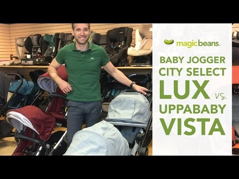 Baby Jogger City Select Lux Vs Uppababy Vista 2017 Reviews Ratings Prices Magic Beans