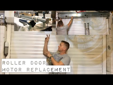 Roller Garage Door Motor Replacement,