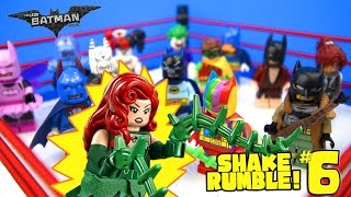 The LEGO Batman Movie Shake Rumble Game #6 with Lego Batman Blind Bag MiniFigures by KidCity