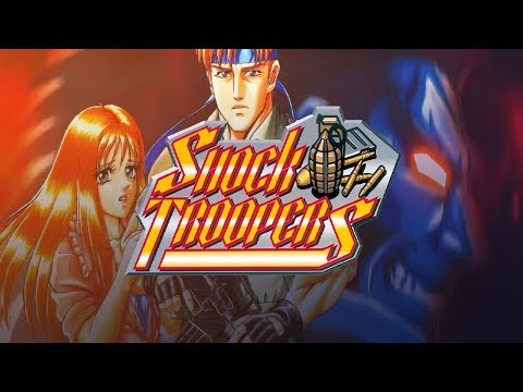 Shock Troopers (Arcade / Neo-Geo) | Longplay | Check That Awesome Music!