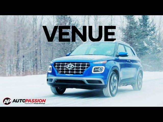 Un petit VUS qui se démarque! Hyundai Venue 2020 - Autopassion.tv